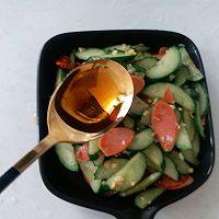 #花10分钟,做一道菜!#火腿肠炒黄瓜的做法图解10
