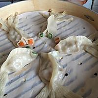 金鱼蒸饺#船歌鱼水饺#的做法图解14