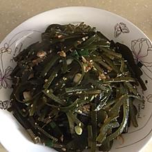蒜炒海带丝