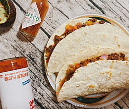 墨西哥卷饼 Taco Tueeeeeesday!!的做法