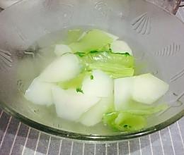 清水棒菜-鲜美至极的做法
