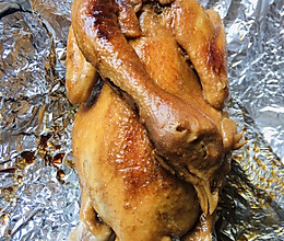 烤箱版的烤鸡的做法
