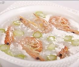 游水鲜虾粥的做法
