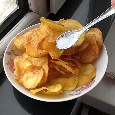 香酥炸土豆片(最简易,最好懂)
