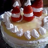 草莓千层蛋糕的做法图解15
