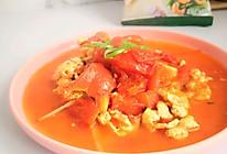 #我们约饭吧#家乐薄盐鲜~沪系番茄炒鸡蛋的做法