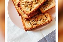 #憋在家里吃什么#自烤蒜蓉面包片的做法