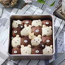 #金龙鱼精英百分百烘焙大赛阿狗战队# 小熊挤挤面包