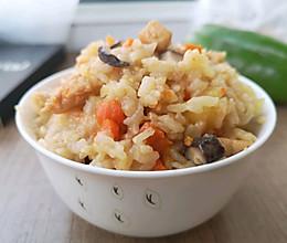 #憋在家里吃什么#香菇鸡肉闷饭的做法