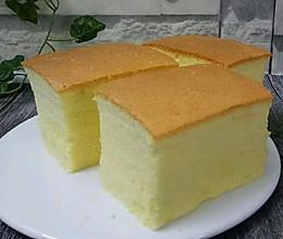 古早蛋糕(9寸)的做法