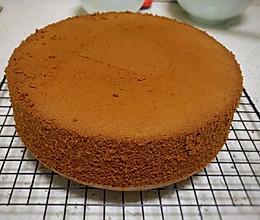 8寸零失败完美可可戚风蛋糕的做法