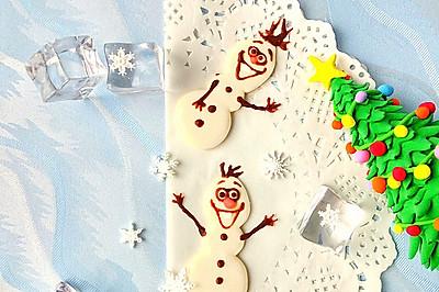 圣诞节雪宝牛轧糖