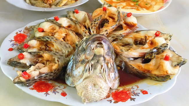 开屏福寿鱼的做法