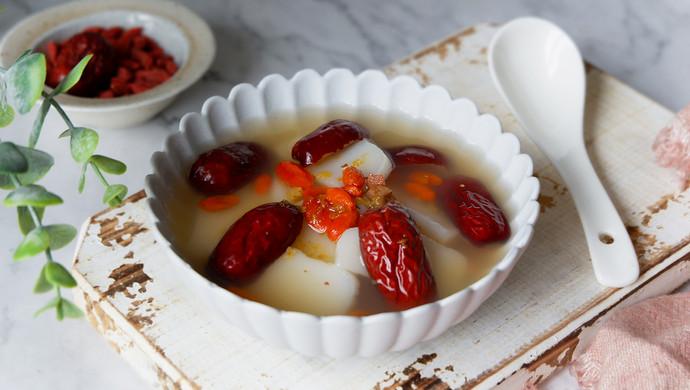 红枣枸杞汤年糕#新年开运菜,好事自然来#