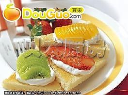 早餐吐司水果派的做法