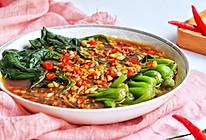 #餐桌上的春日限定#蚝油菠菜的做法