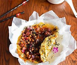 #美食视频挑战赛# 章鱼海苔手抓饼的做法