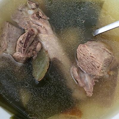 海带陈皮鸭汤