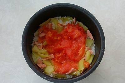 一个西红柿