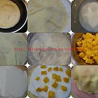 芒果千層蛋糕的做法圖解2