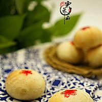 苏式榨菜鲜肉月饼#手作月饼#——黑暗料理也有春天的做法图解24