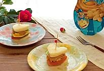 迷你三明治#趣味挤出来,及时享美味#的做法