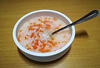 胡萝卜粥的做法