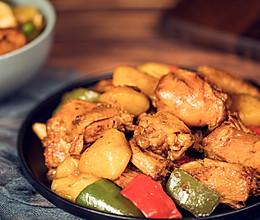#做道好菜,自我宠爱#零失败版新疆大盘鸡的做法