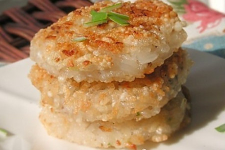 糯米藕饼的做法