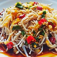 凉拌金针菇~开胃小菜的做法图解4