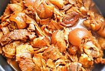 过程有点复杂的好菜~红焖猪蹄笋干煲的做法