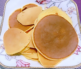酸奶铜锣烧煎饼的做法
