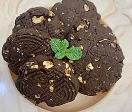 巧克力核桃仁饼干的做法