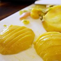 芒果椰汁糯米饭的做法图解8