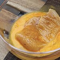 #安佳马苏里拉芝士挑战赛#炸鸡排:十步完成,酥脆流汁~的做法图解4