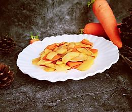 土豆炒~胡萝卜的做法
