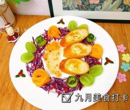 """#2021创意料理组——创意""""食""""光#青柠芒果滑蛋卷的做法"""