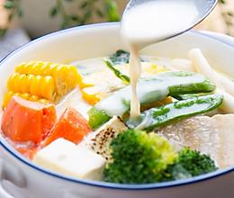 味噌豆乳锅的做法