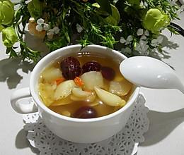 红枣百合雪梨糖水的做法