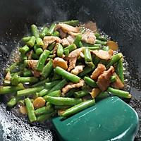 四季豆炒五花肉的做法图解9