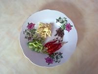 圆白菜炒粉条的做法图解3