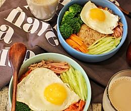 营养早餐——韩式拌糙米饭的做法