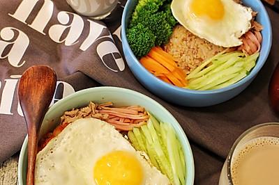 营养早餐——韩式拌糙米饭