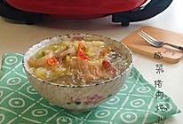 酸菜猪肉炖粉条#利仁美食穿越#的做法