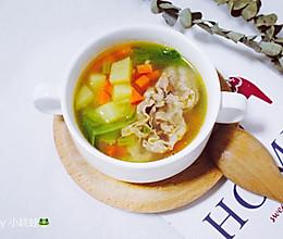 肥牛罗宋汤的做法