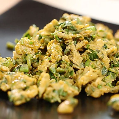 迷迭香:香椿炒鸡蛋