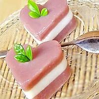 红豆杏仁糕