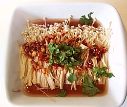 开胃下饭菜-烤金针菇的做法