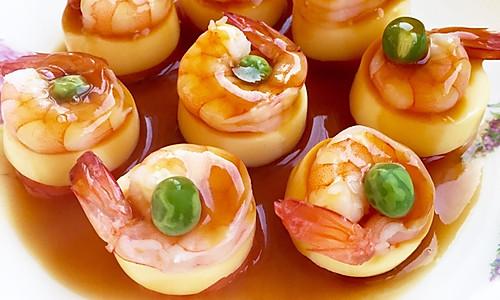 一口鲜豆腐蒸虾#方太一代蒸传#的做法