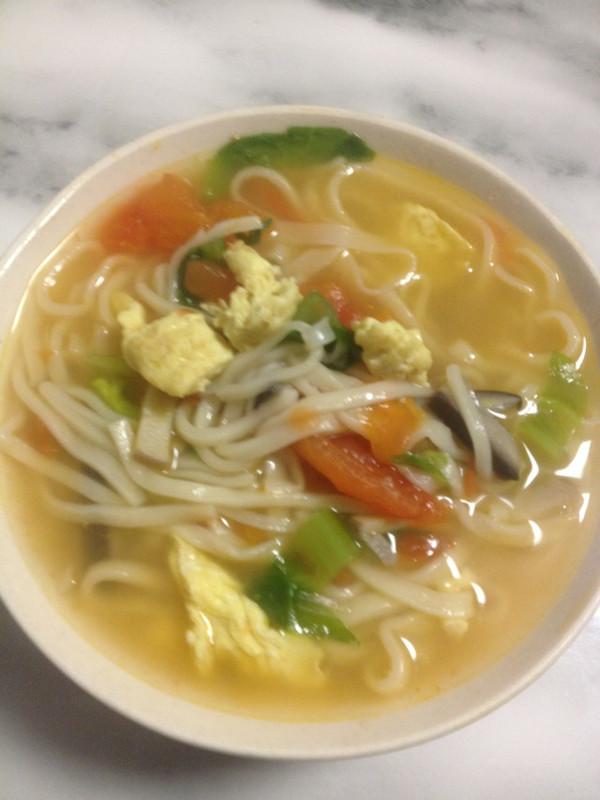 西红柿鸡蛋汤面条的做法